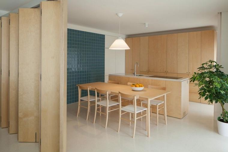 Decoraci n de interiores minimalista ideas de comedores for Comedor para oficina