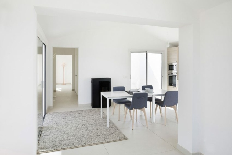 decoracion de interiores minimalista comedore disenado artelabo ideas
