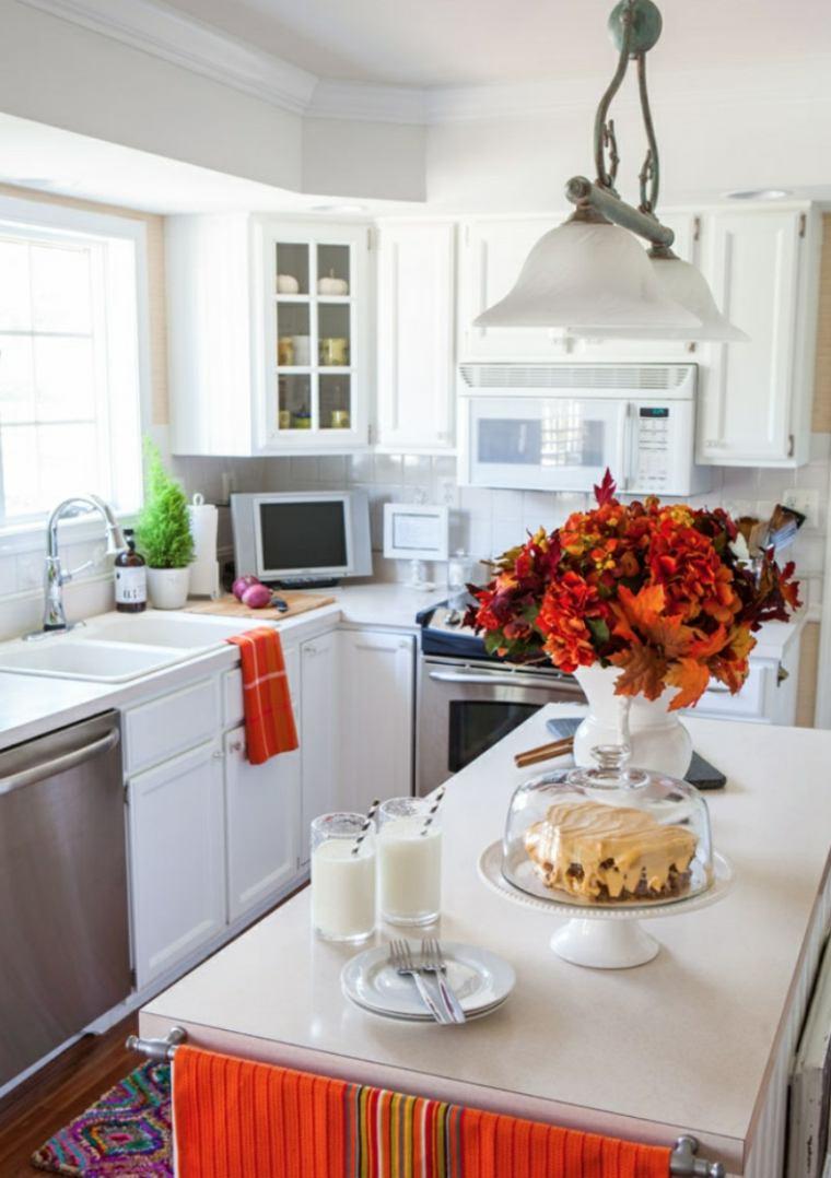 decoración de otoño cocinas