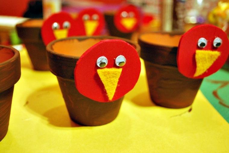 decoración de otoño niños