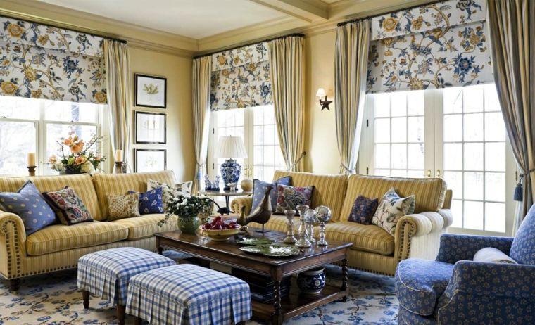 decoracion de salones clasicos lleno colores ideas