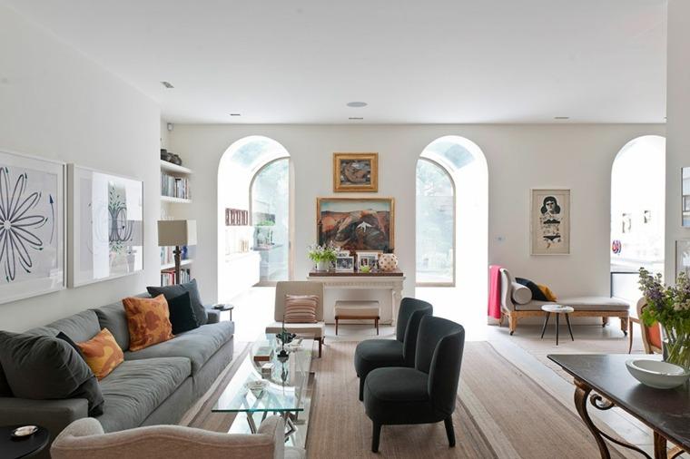 decoracion de salones clasicos muebles preciosos ideas