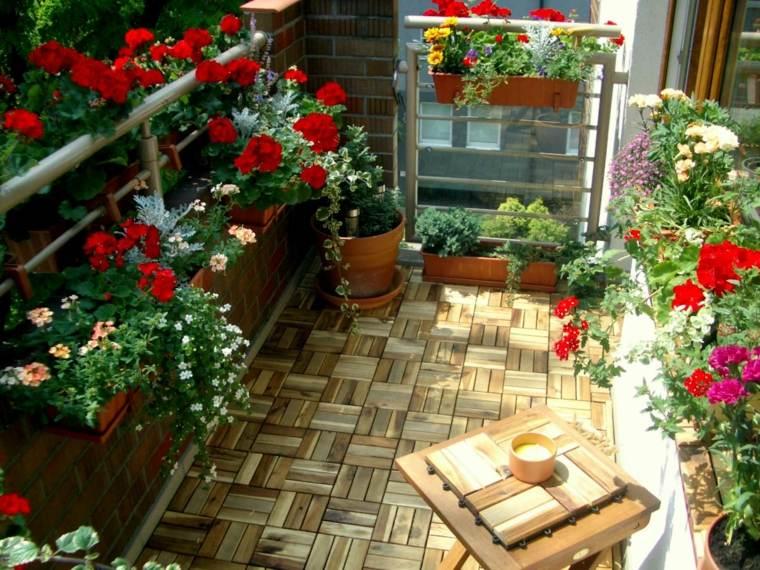 decoración de terraza pequeña