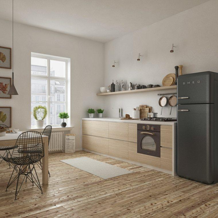 decoracion diseno cocinas apartamento pequeno ideas
