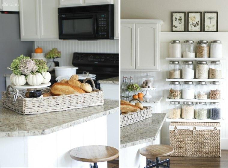 decoración en la cocina