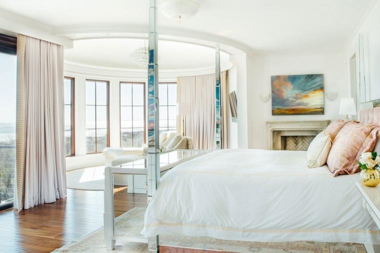 decoracion estilo shabby chic dormitorio amplio luminoso ideas