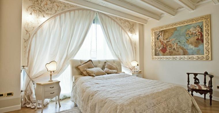 decoracion estilo shabby chic dormitorio clasico ideas