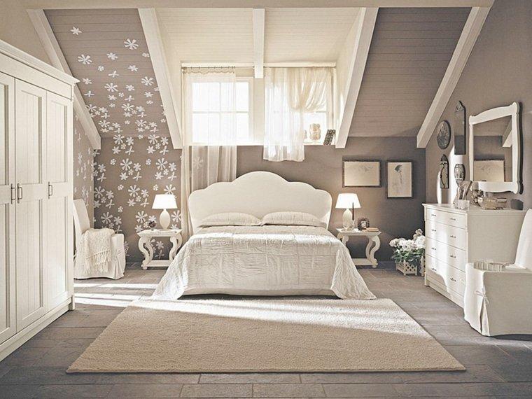 decoracion estilo shabby chic dormitorio color beige ideas