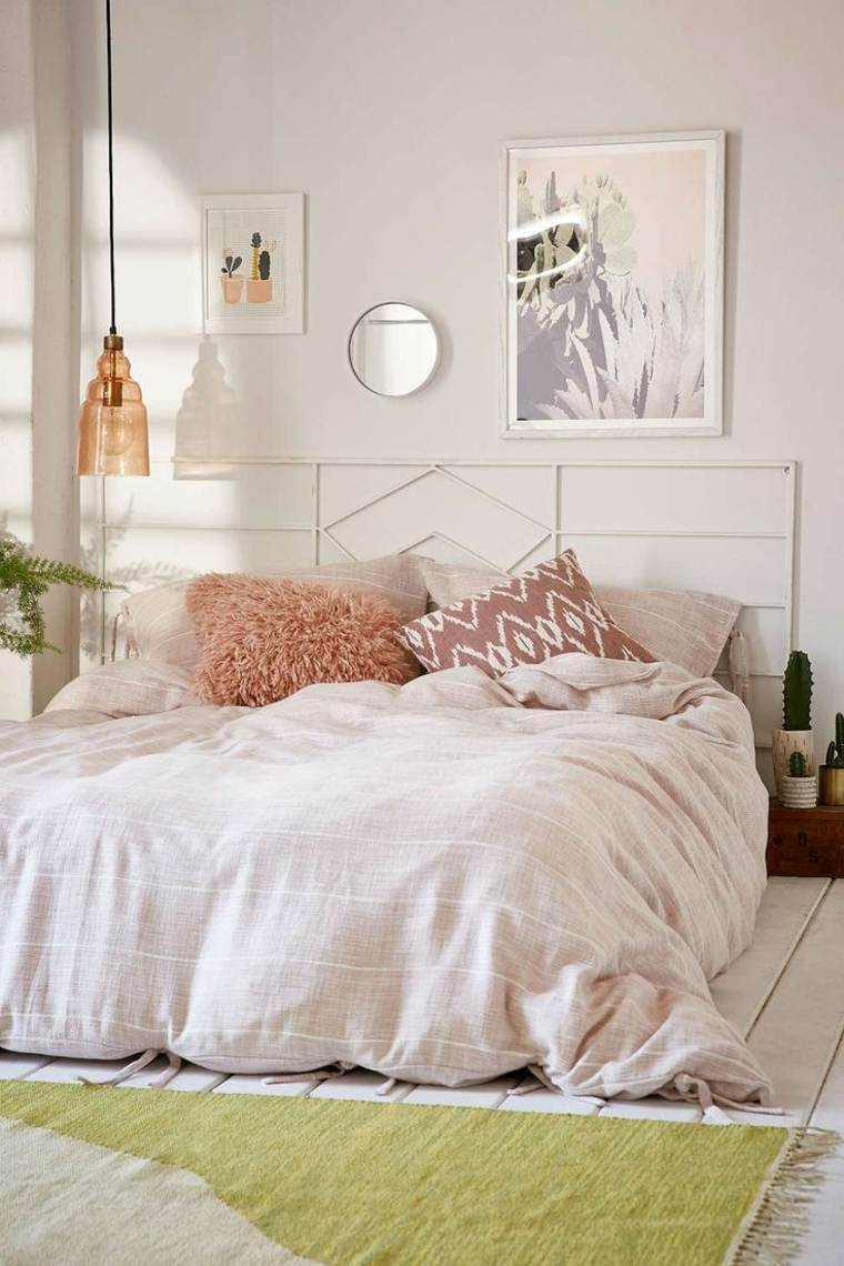 decoracion estilo shabby chic dormitorio muebles ideas