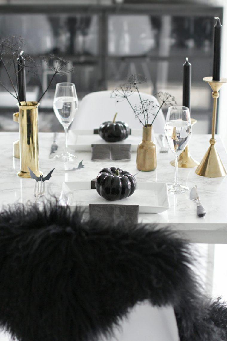decoracion halloween moderna clase mesa elegante ideas