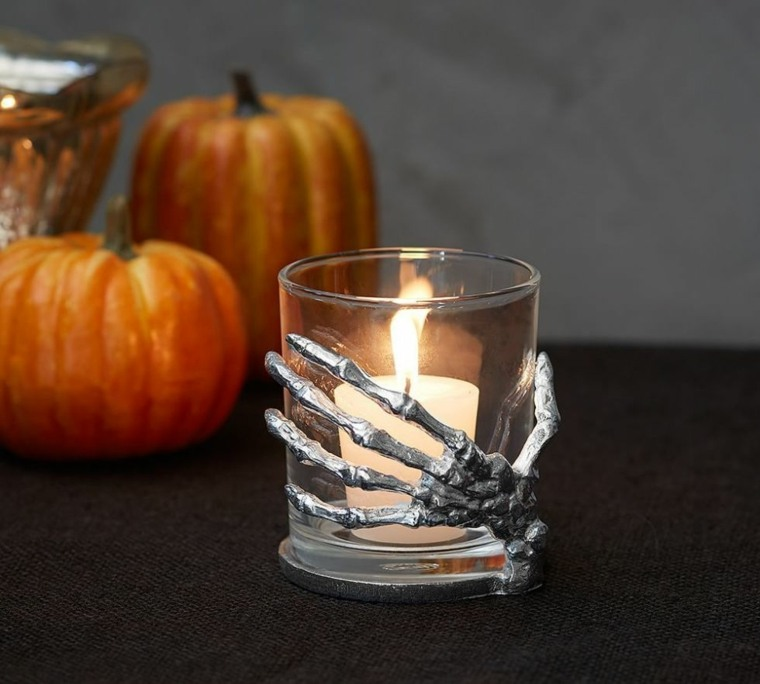 decoracion halloween moderna decoracion velas ideas