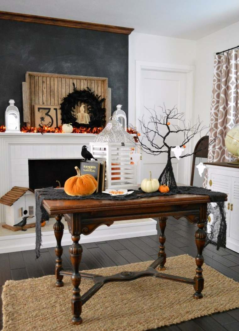 decoracion halloween moderna mesa ideas
