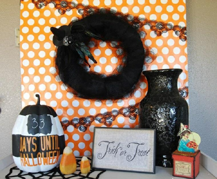 decoracion halloween moderna varias opciones ideas