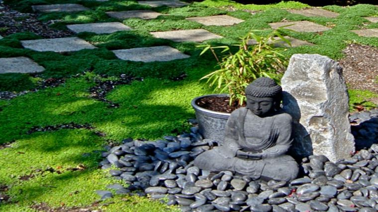 decoración jardín zen pequeño