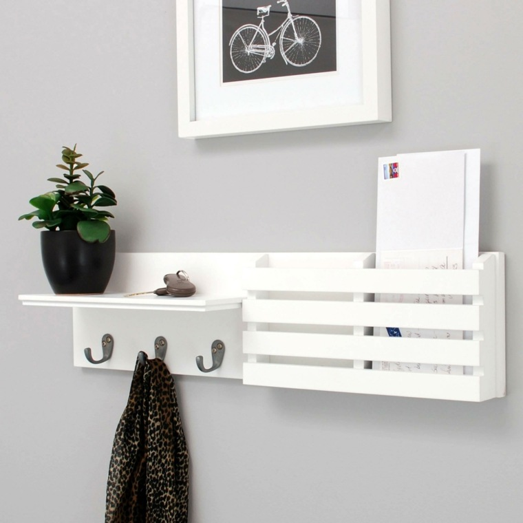 decoración minimalista moderna recibidores