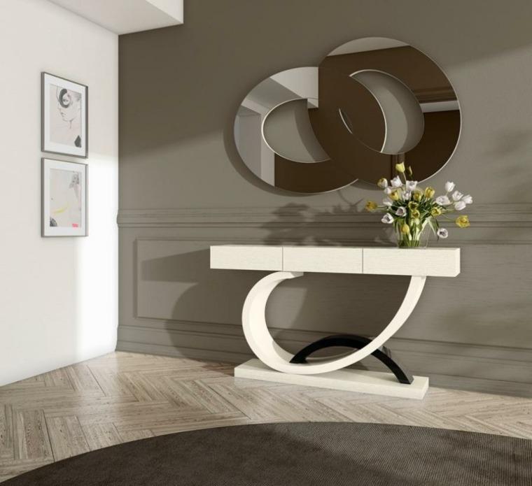 decoracin minimalista original recibidores