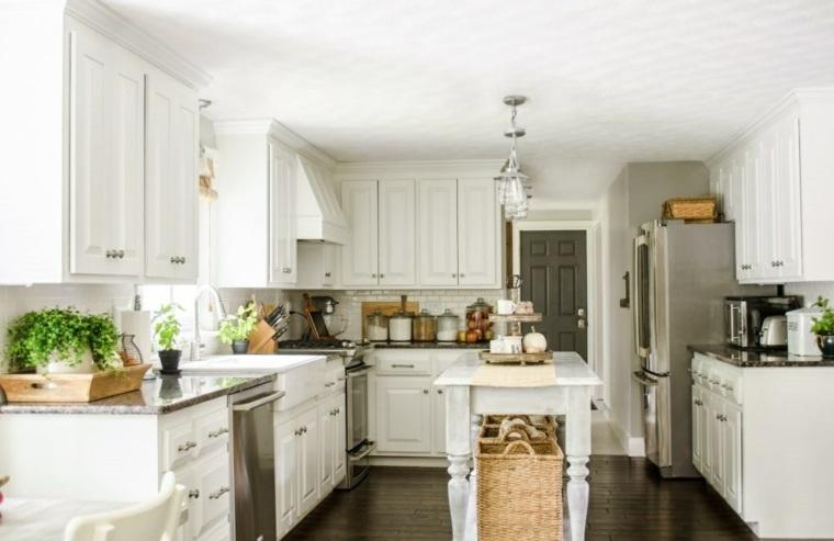 decoración otoñal cocinas
