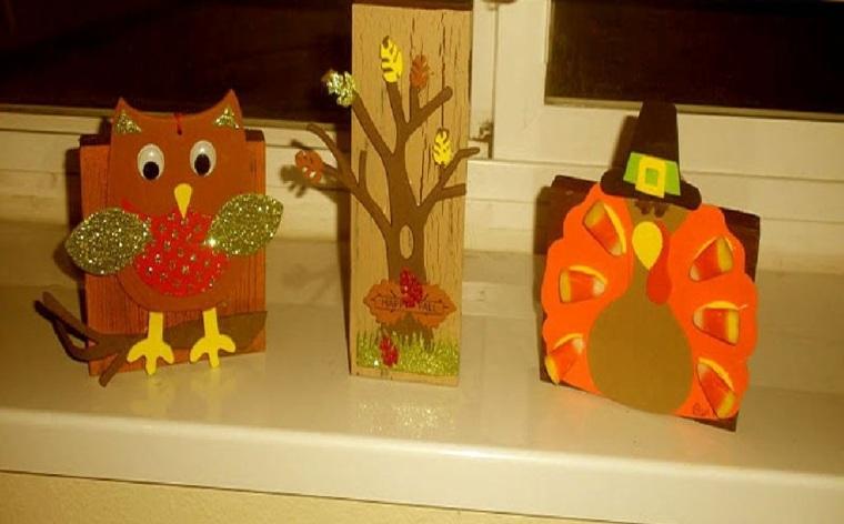 decoración otoño niños