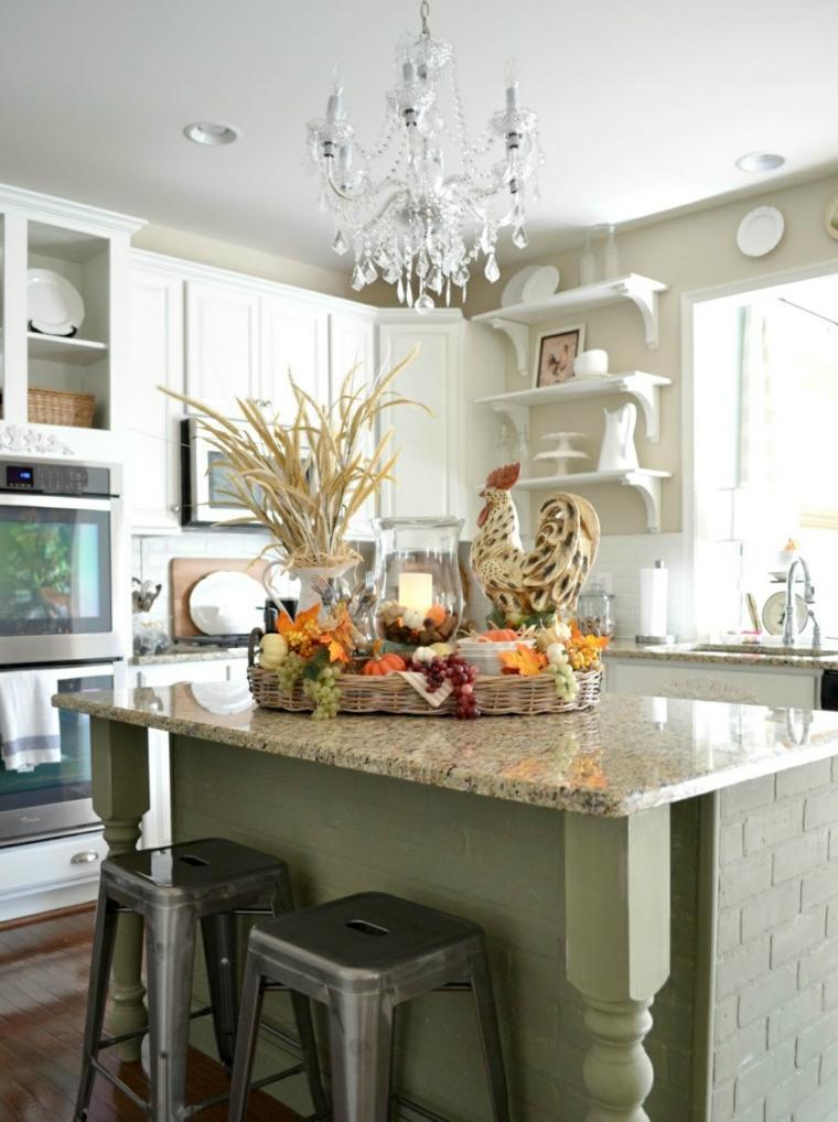 decoración para cocinas clásicas