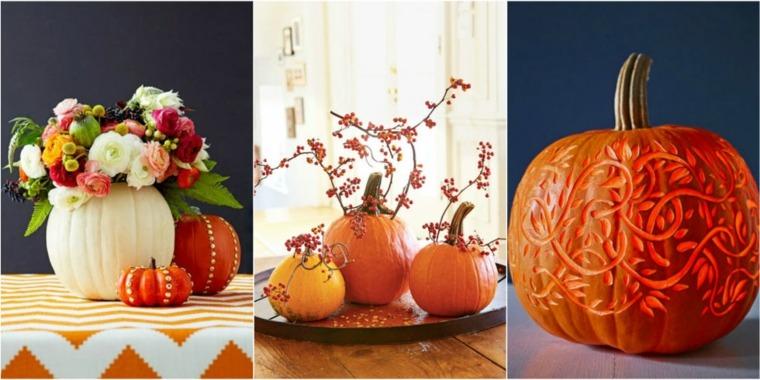 decoración para cocinas original otoño