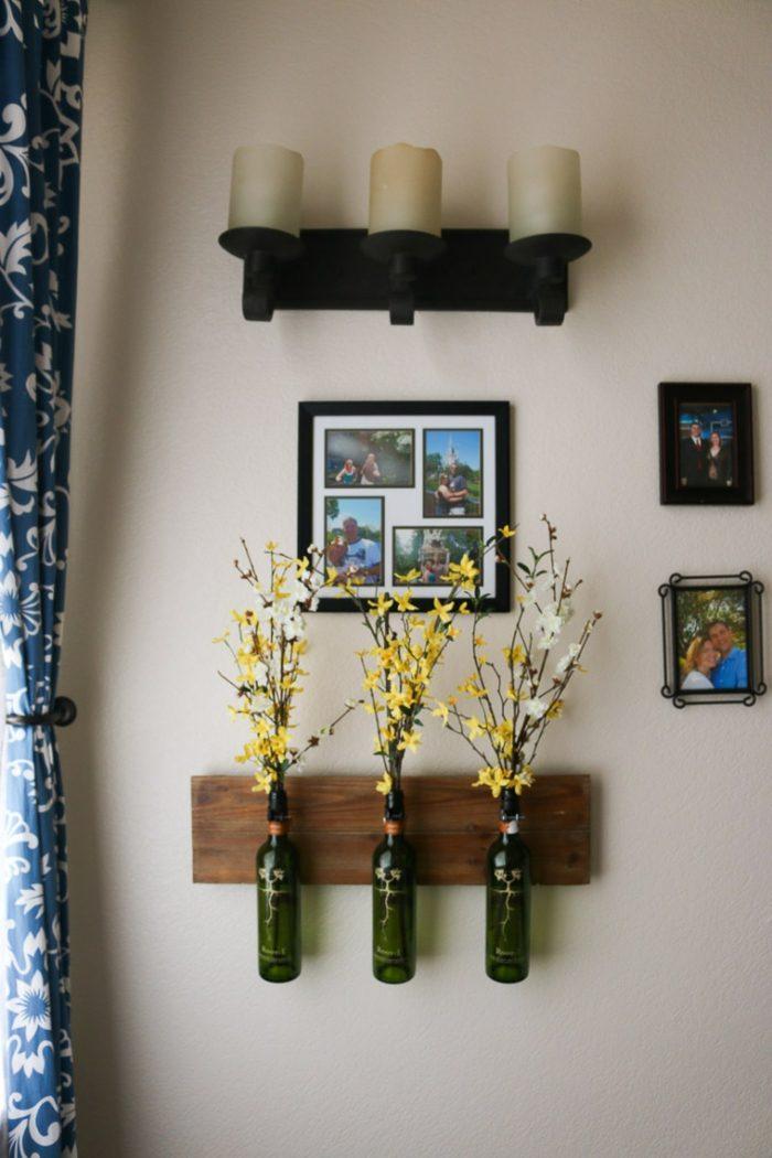 decoracion paredes especiales fotos velas