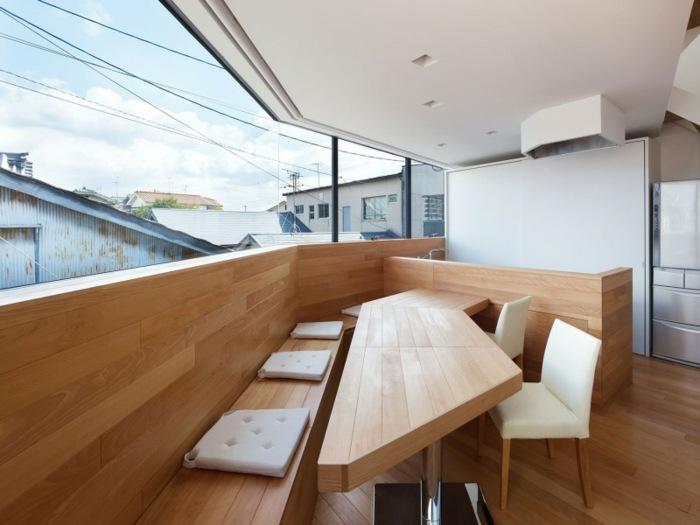 decoracion terrazas casa disenada fujiwarramuro architects ideas
