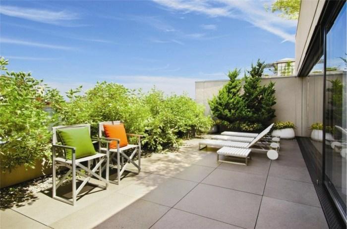 decoracion terrazas casa disenada plantas tumbonas ideas