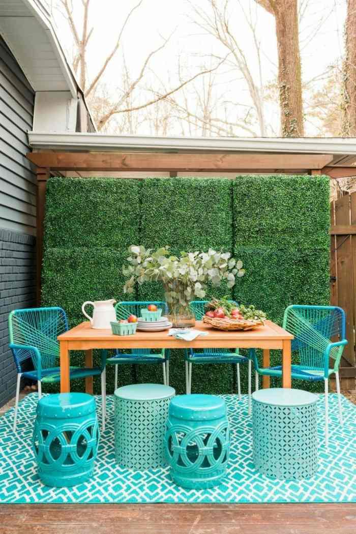 decoracion terrazas diseno colorido bonito ideas