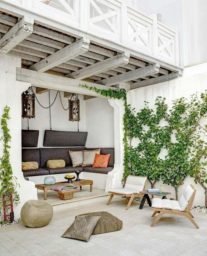 decoracion terrazas diseno moderno muebles madera ideas