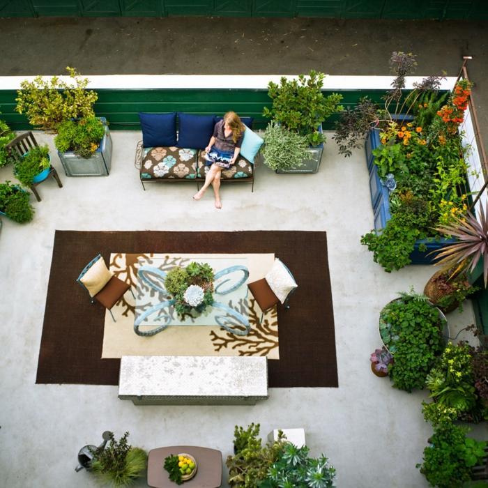 decoracion terrazas diseno urbano plantas ideas