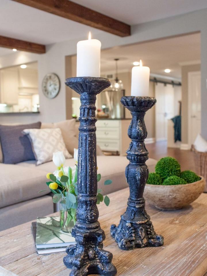 decoracion velas contemporaneo ideas textura