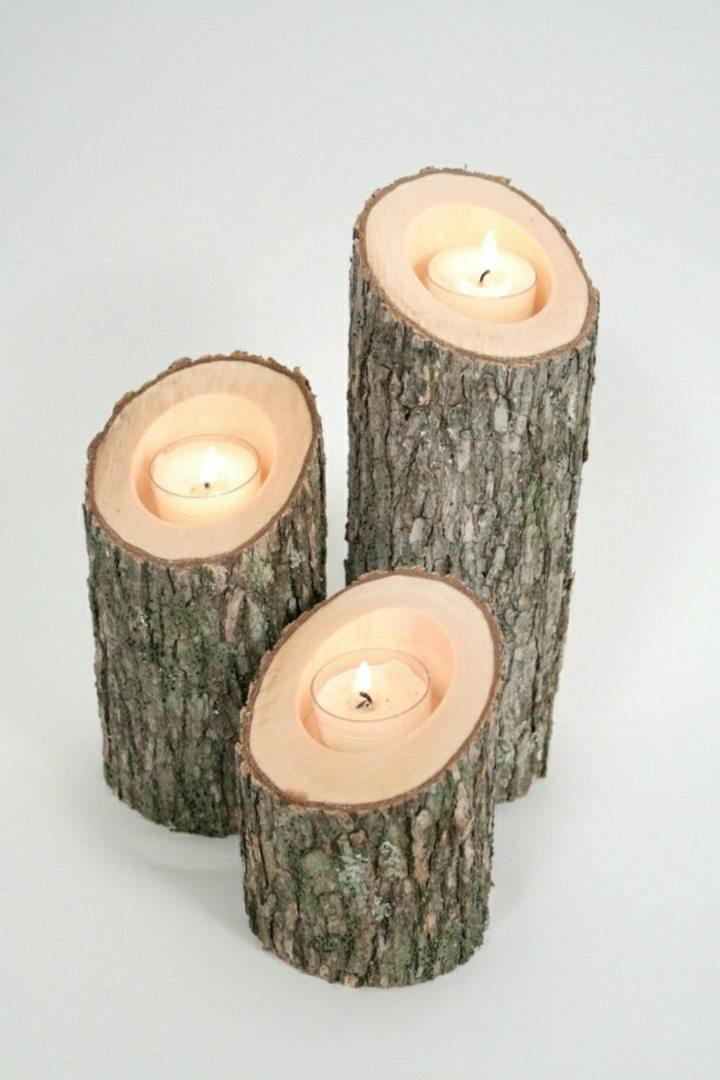 decoracion velas efectos materiale alturas