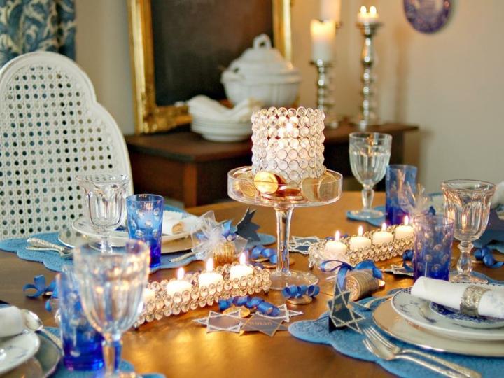 decoracion velas platos colores sisemas
