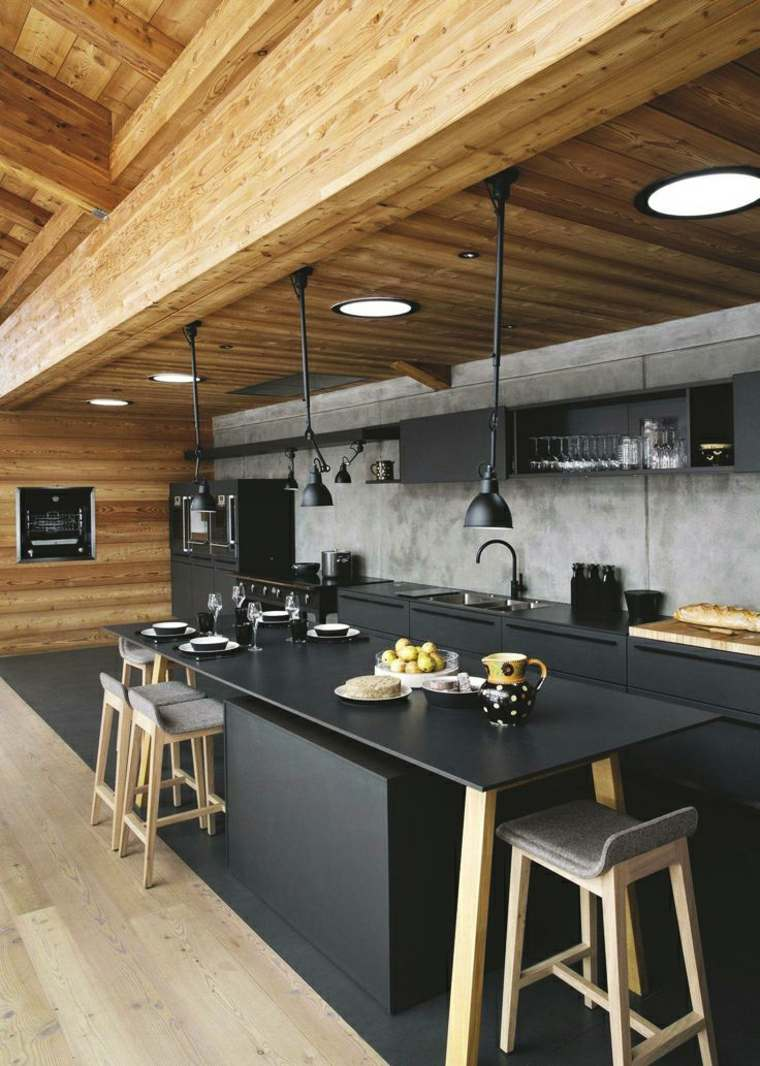 decoracion y diseno de cocinas industrial ideas