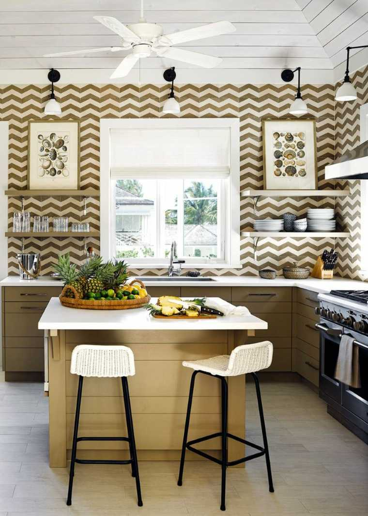 decoracion diseno de cocinas losas preciosas ideas