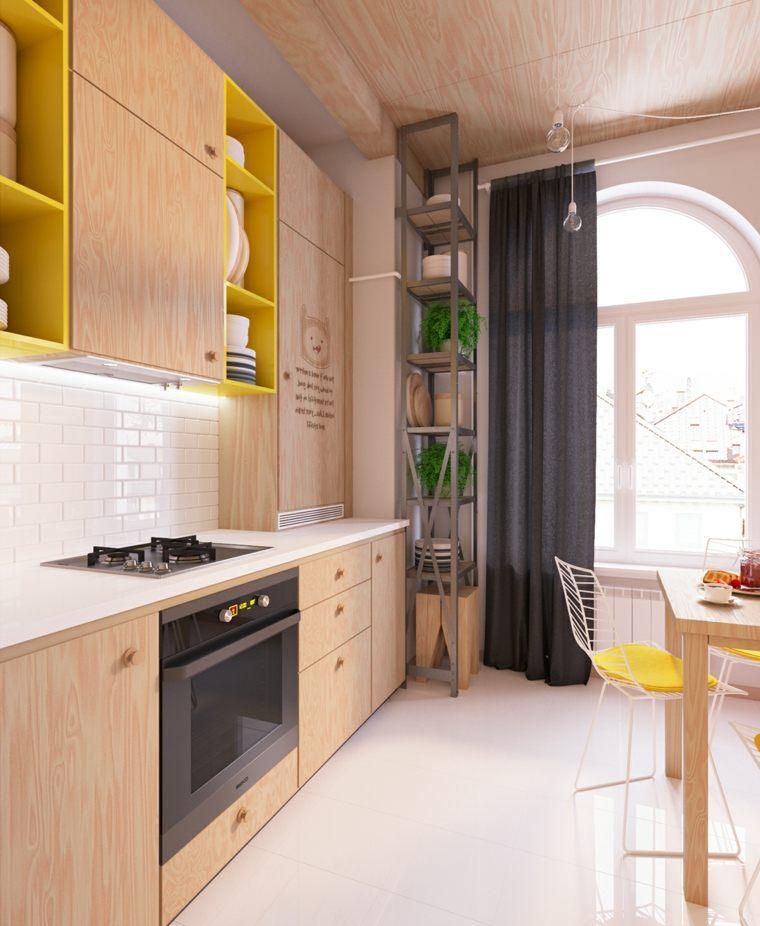 Decoraci n y dise o de cocinas muy atracivas for Disenos de muebles de cocina en madera