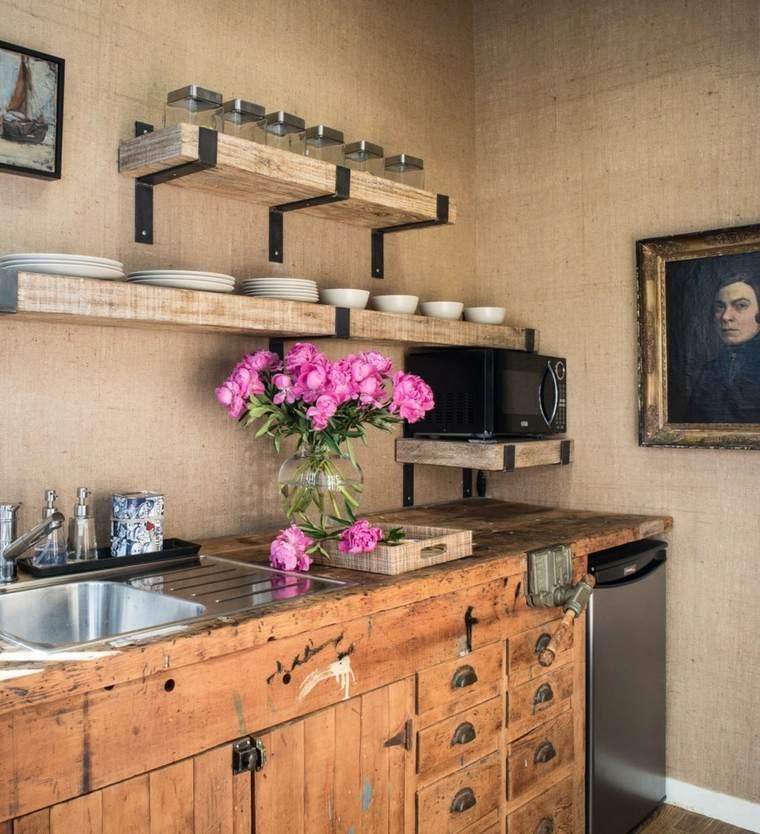 decoracion y diseno de cocinas rusticas ideas