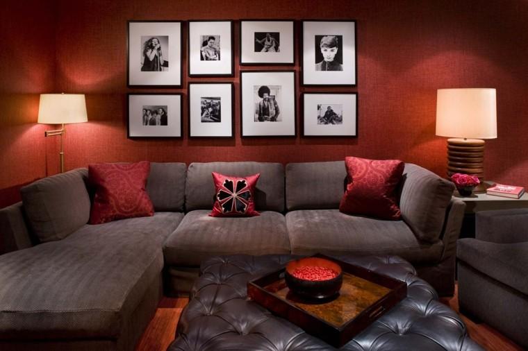 decorar con fotos interior moderno