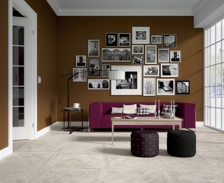 decorar con fotos salón