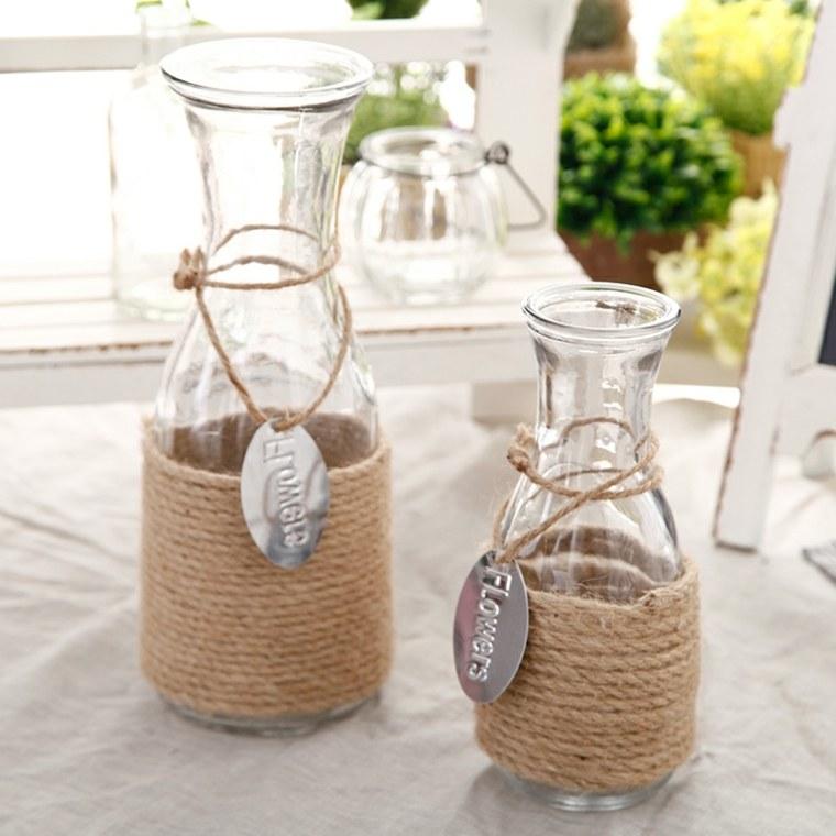 decorar con jarrones interior - Jarrones Decorados