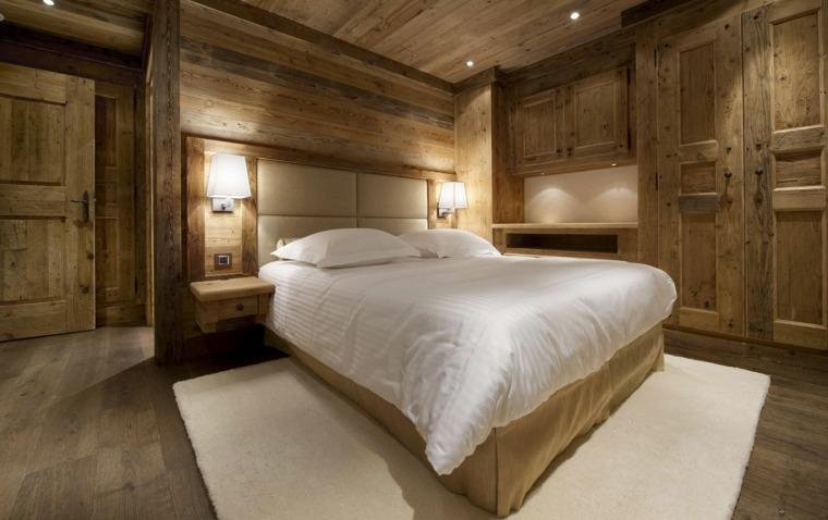 decorar paredes con madera dormitorios