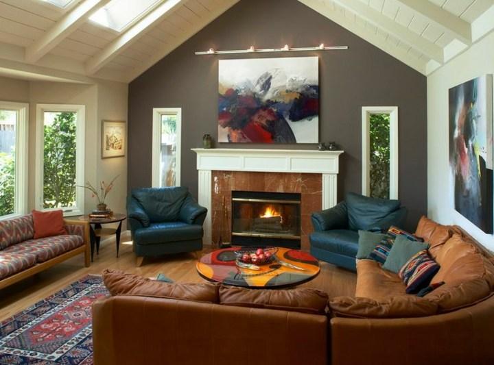 decorar paredes diseño imagenes chimeneas fuentes