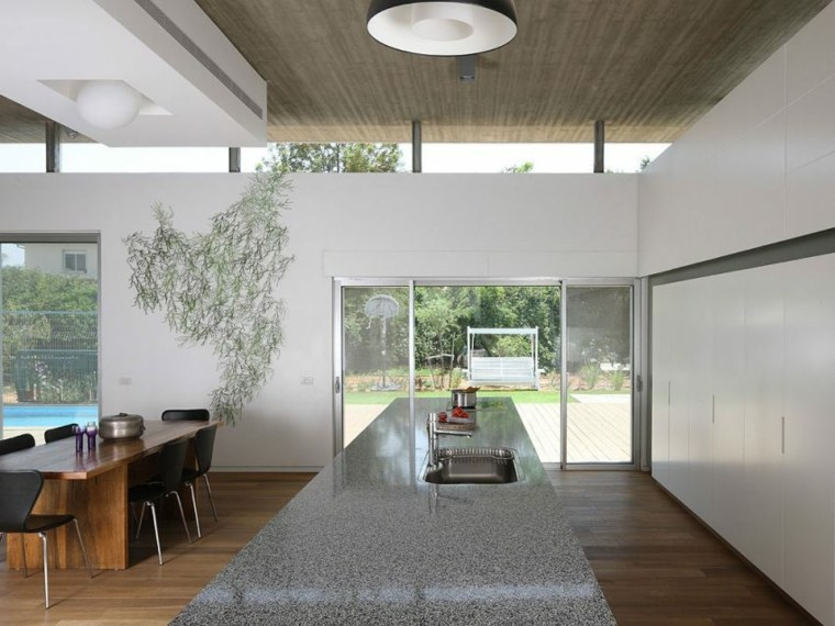 decorar paredes diseno interiores acentos Amitzi Architects ideas