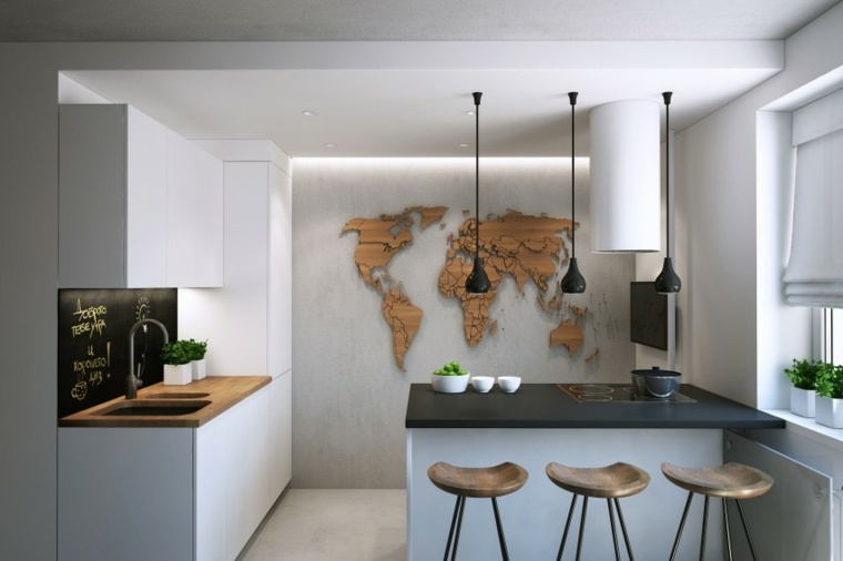 decorar paredes diseno interiores acentos Clark Richardson Architects ideas