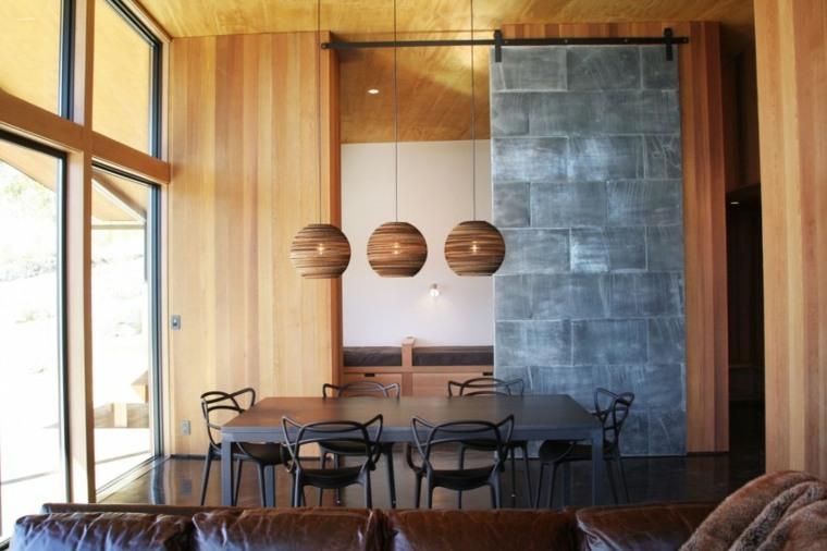 decorar paredes diseno interiores acentos Johnston Architects ideas