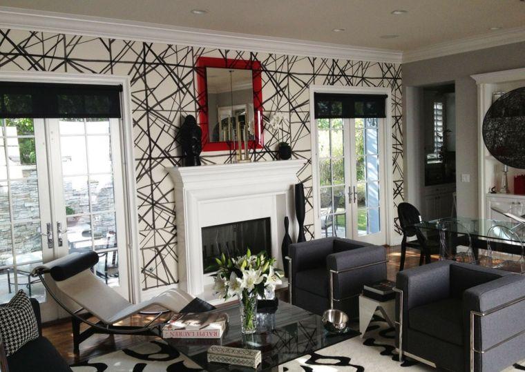 decorar paredes diseno interiores acentos animado ideas