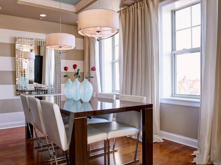 decorar paredes diseno interiores acentos beige blanco ideas