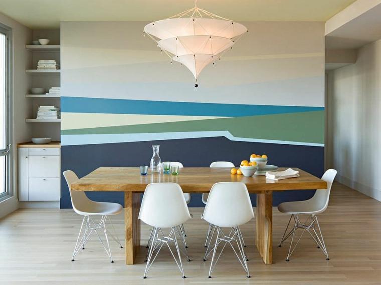 decorar paredes diseno interiores acentos colores ideas