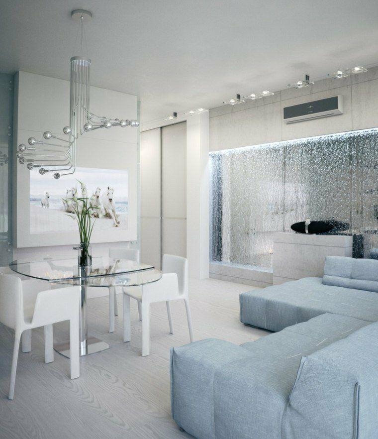 decorar paredes diseno interiores acentos contemporaneo ideas