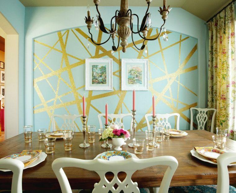 decorar paredes diseno interiores acentos eclecticos ideas